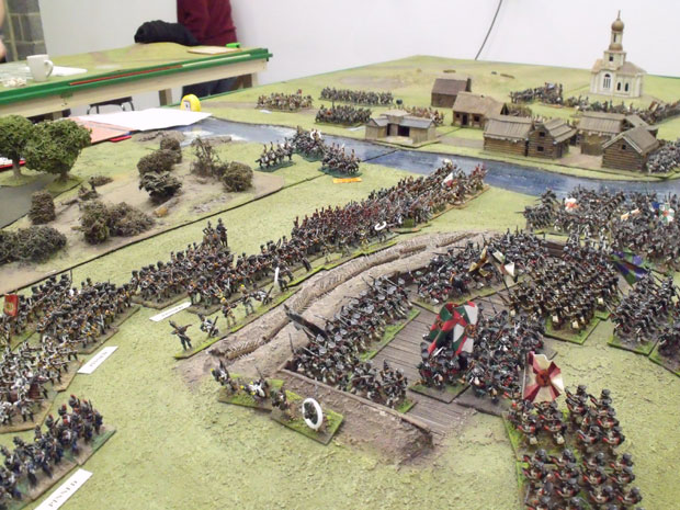 The fight for the redoubt