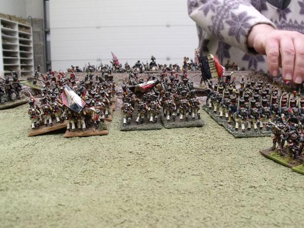 The III corps assault