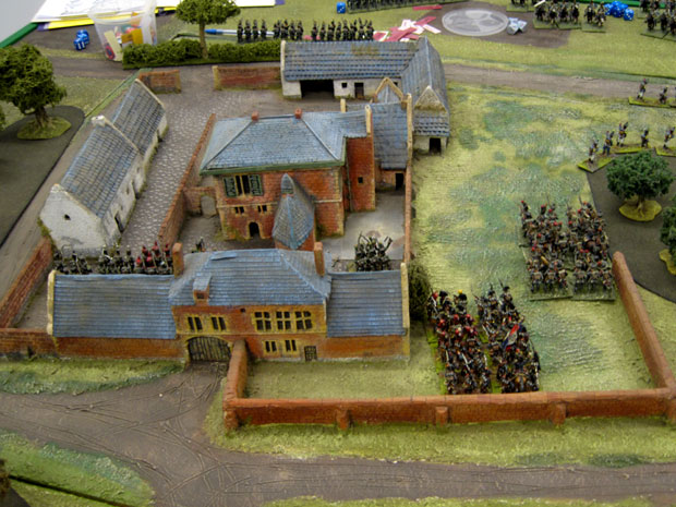 French capture Hougoumont!