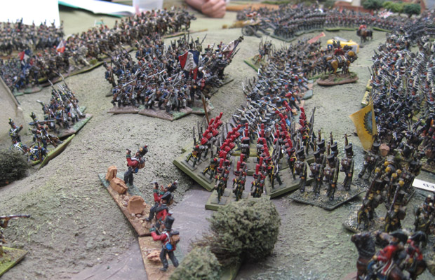 The French taking the ridge