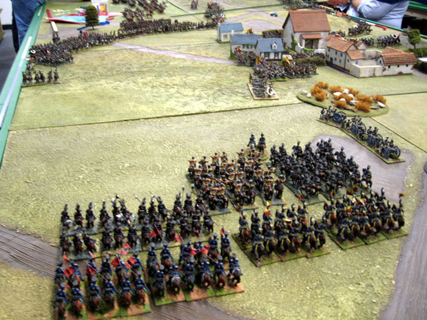 The Prussians arrive