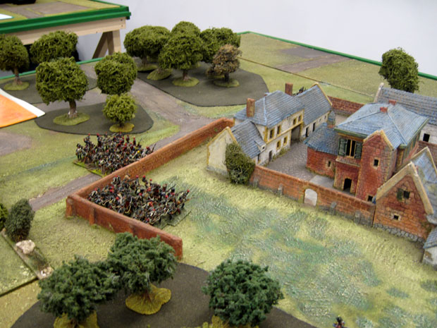 Hougoumont's outer walls captured