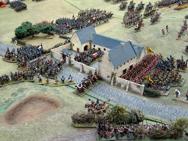 French capture La Haye Sainte
