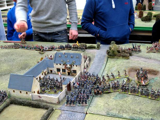 French infantry hold La Haye Sainte