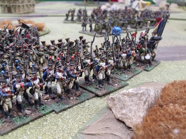 French advance