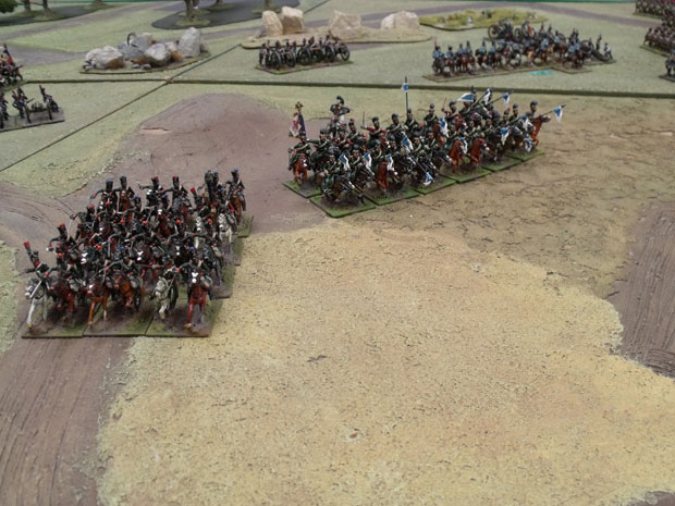 Soult's Light Cavalry.