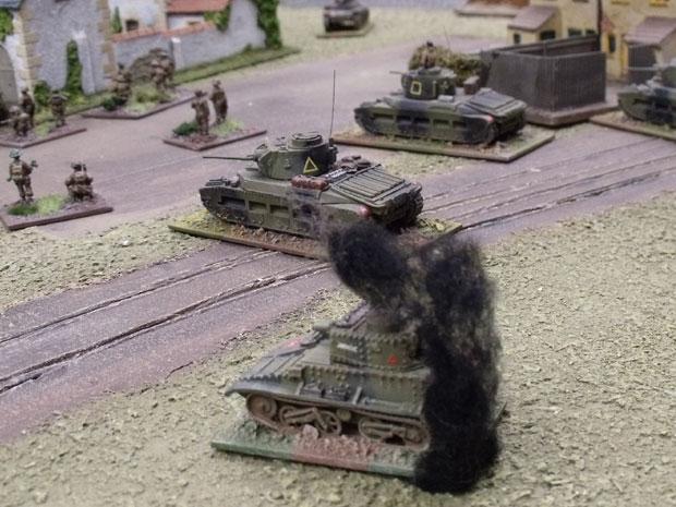 Matildas and Mk VI