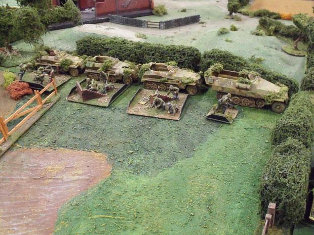 Command Section, Gepanzerte.