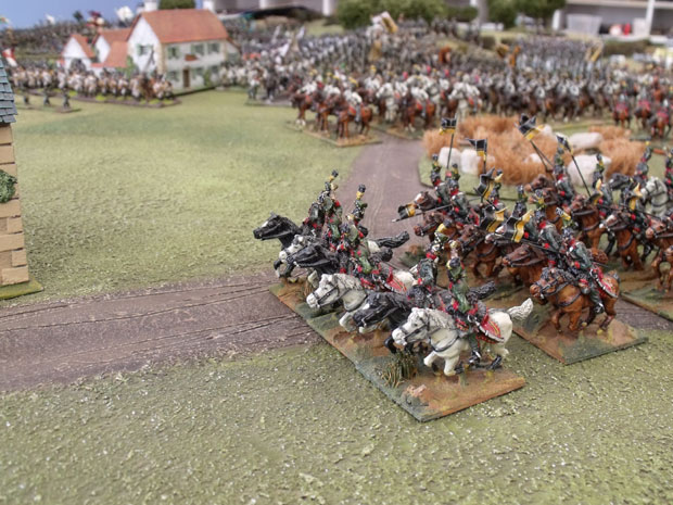 Charge of the Austrian Uhlans