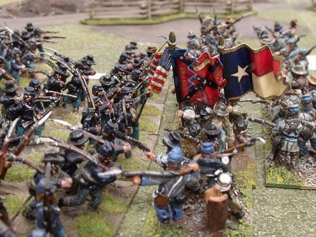 Brigades clash