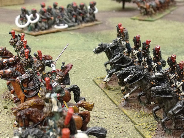 Empress Dragoons and Grenadiers a Cheval
