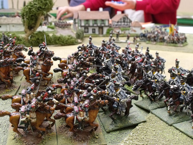 KGL engage the Cuirassier