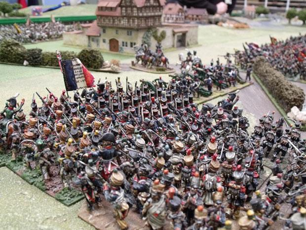 Eugenes troops