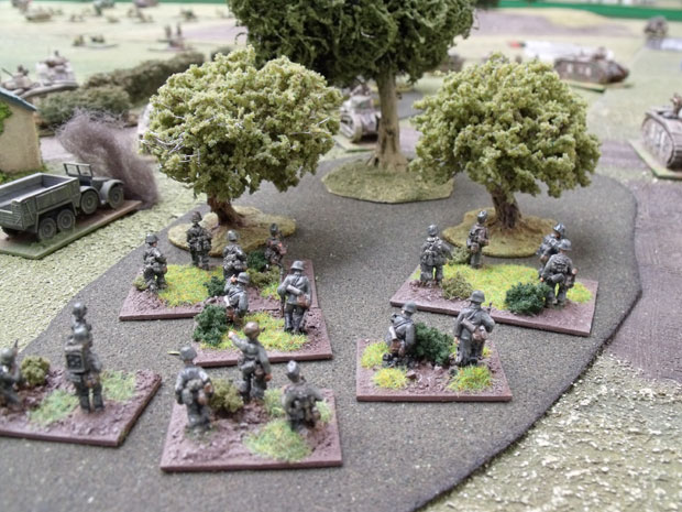 Totenkopf moving into the woodland