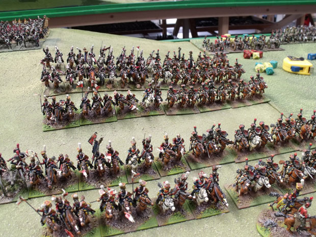 Lancers and Chasseurs of the Guard.