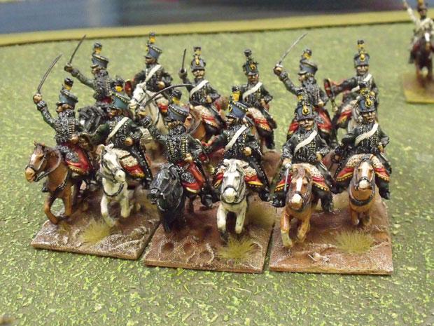 Austrian Hussars.