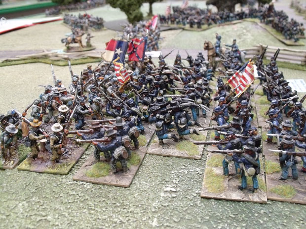 The fighting from one of our ACW games