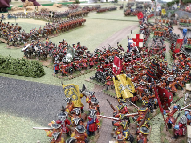 British at Blenheim