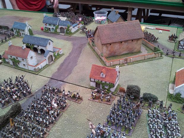 The village of Essling