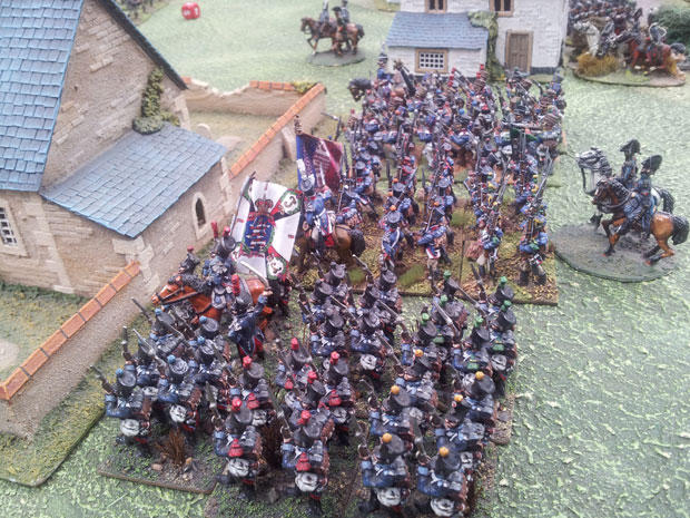 St Cyr's troops arrive to support Aspern