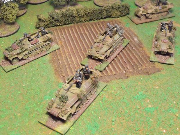 Platoon of Gepanzerte