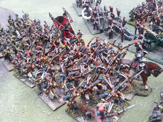 One of the Line regiments.