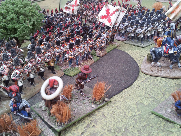 Grenadiers and line