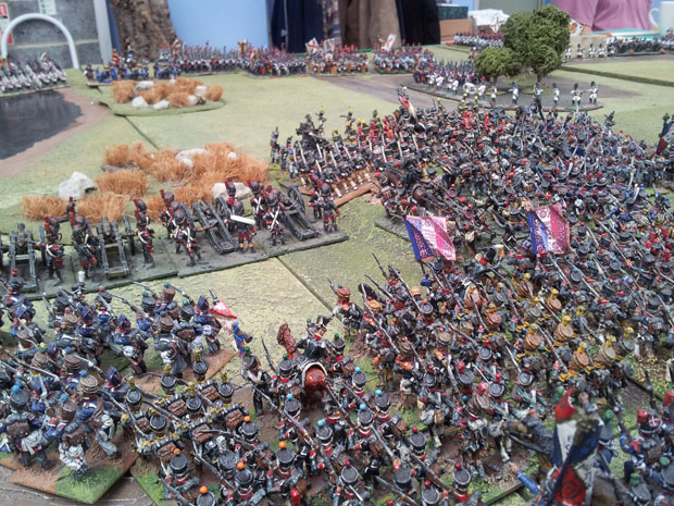 The final French assault.