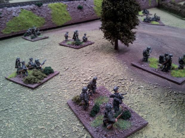 German infantry from Liebstandarte
