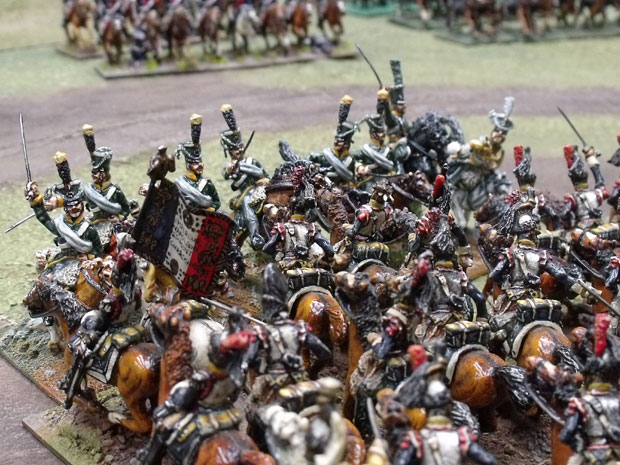 Mixing it with French Cuirassier