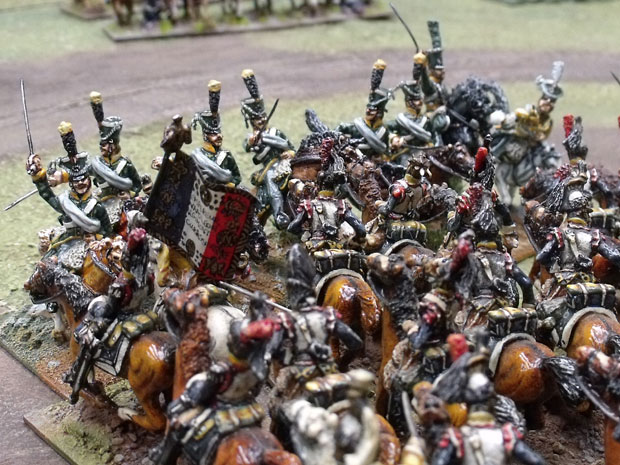Combat with Cuirassier