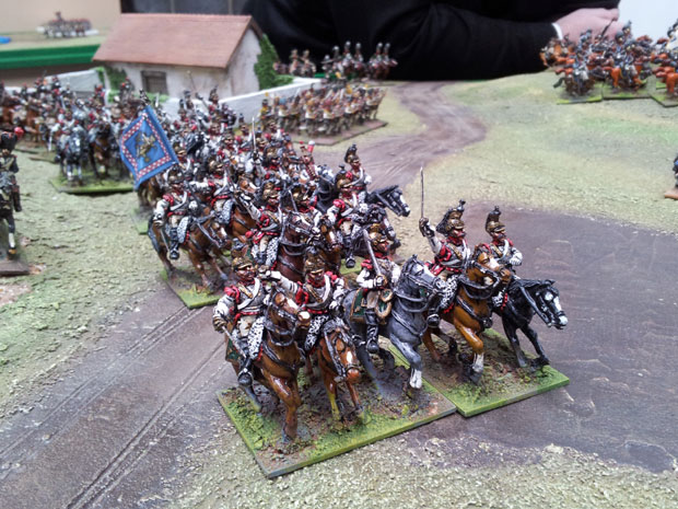 Cuirassier from the Reserve