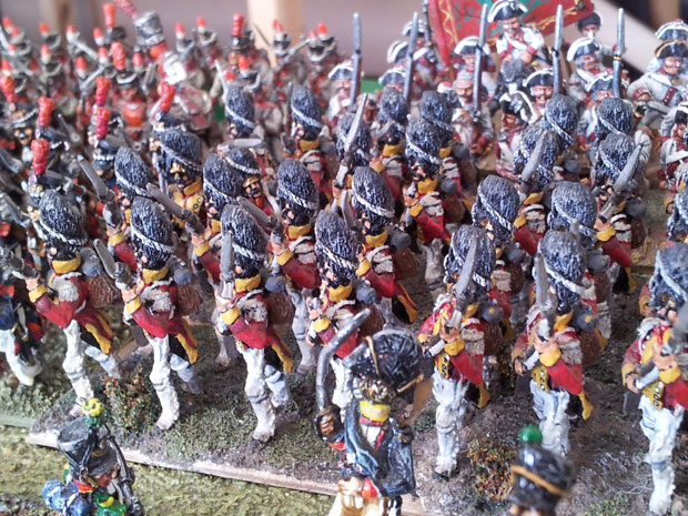 The Saxon Guard Grenadiers