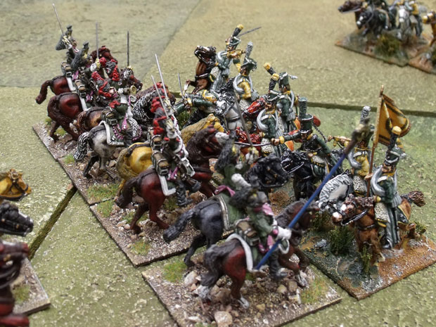 Engaged with Dragoons