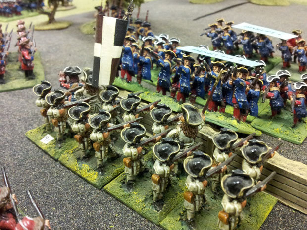 More Prussian infantry attack the positions