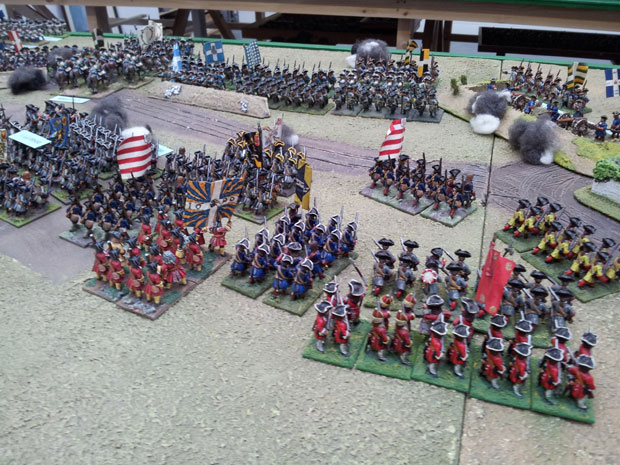 Hessians of the reserve.