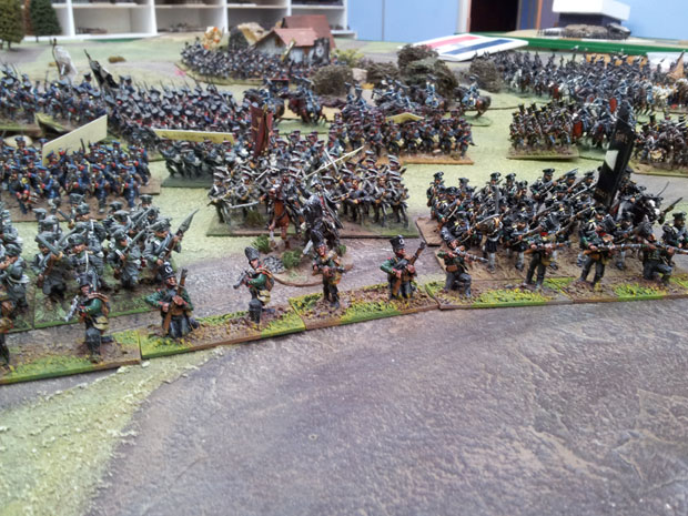 The Prussians advance!