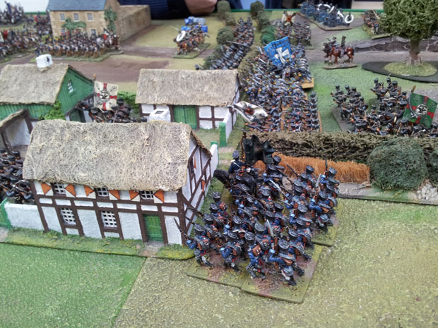 The Prussians in the eastern suburbs