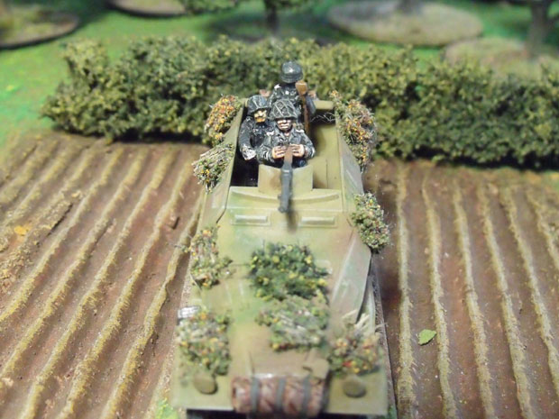 Sd Kfz 250/1 Command Hanomag