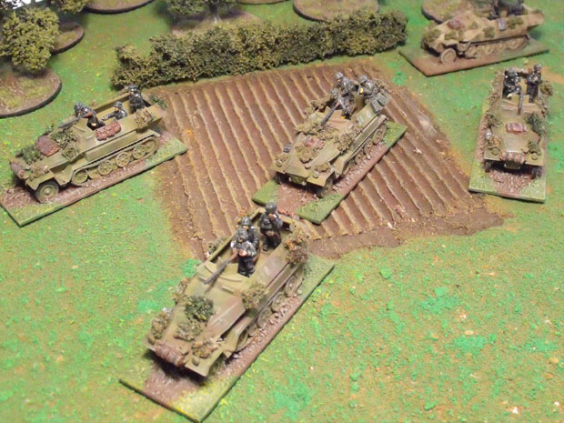 Platoon advance, with mortar support