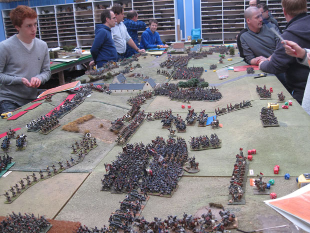 A view of the first day from one of our recent battles