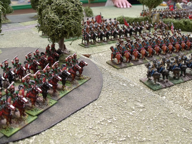 Austrian Hussars from Eugenes wing