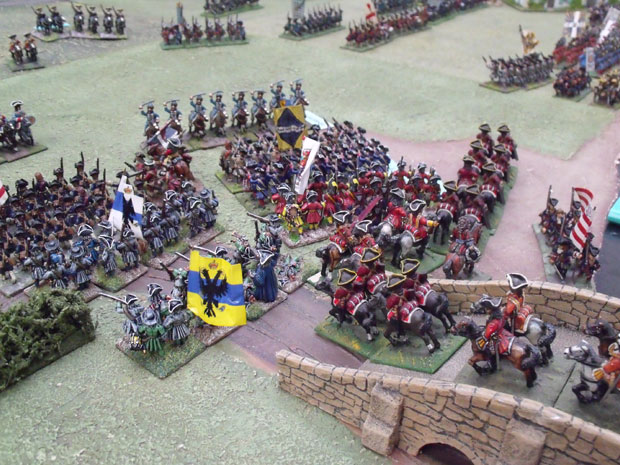 Cutt's cavalry deploys in support of Ingoldsby