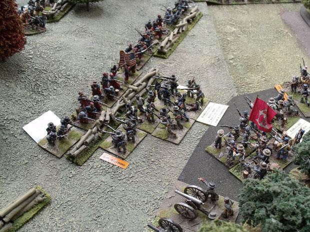 Battle at Culp's hill