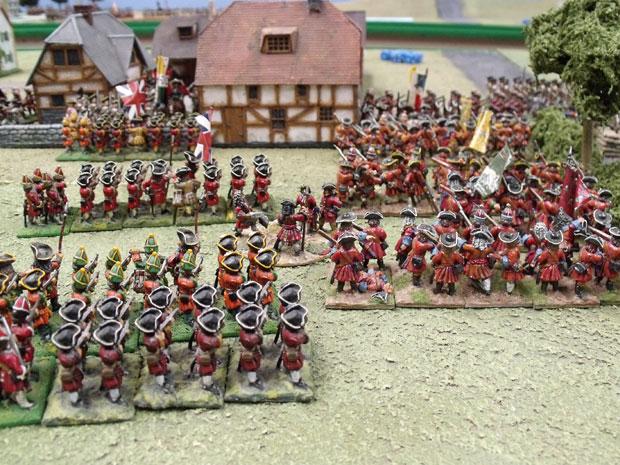The assault on Blenheim