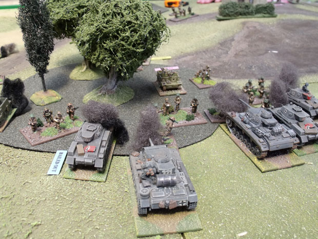 The panzer III defeat