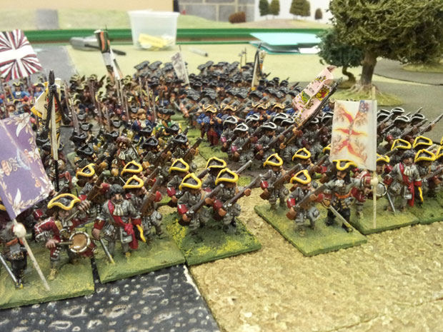 Orkney's Dutch troops enter the fray