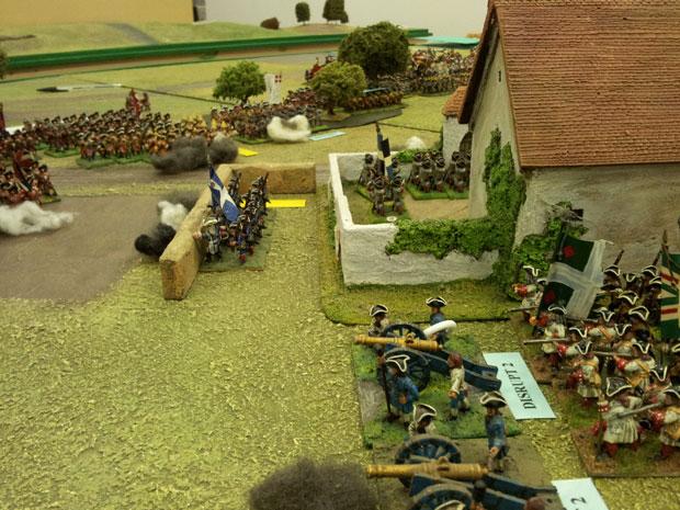 Blairon Farm defences.