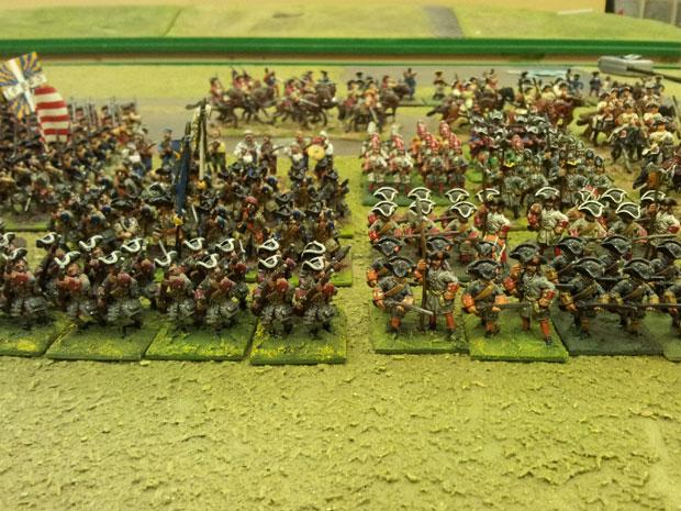 Orkney's troops advance.