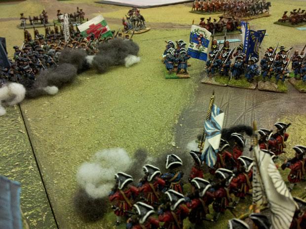More Mercenaries open fire.